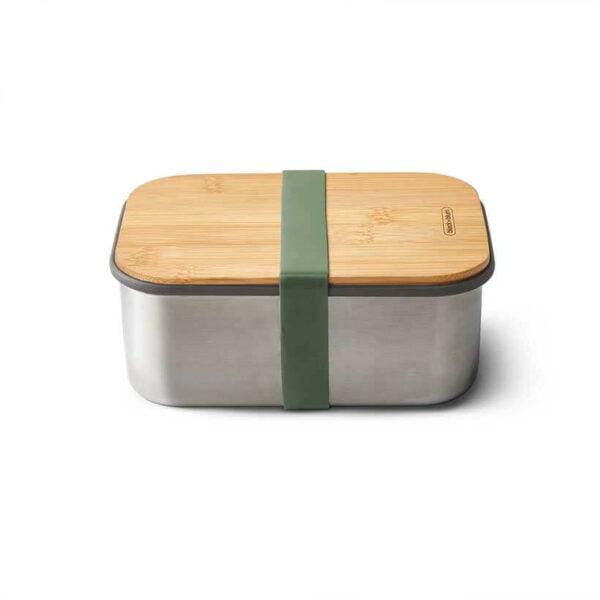 Marmita-Bamboo-Sandwich-Box-Large-Black-Blum-Azeitona