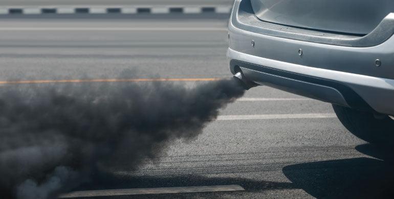 Emissões de dióxido de carbono