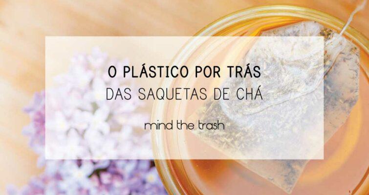 Plástico nas saquetas de chá