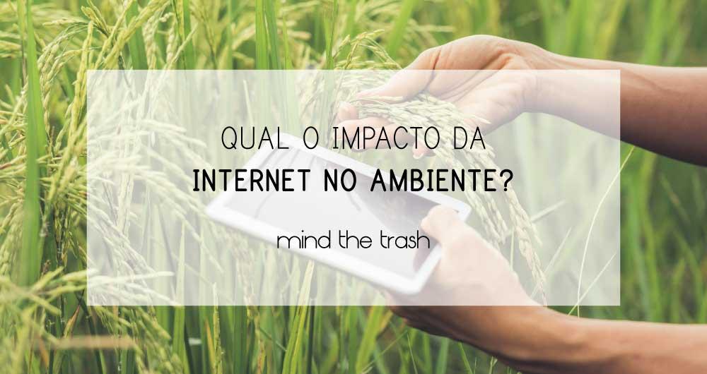 pegada de carbono internet